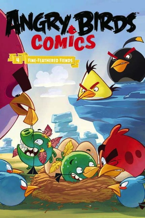Angry Birds Comics Volume 4 - Fine Feathered Friends