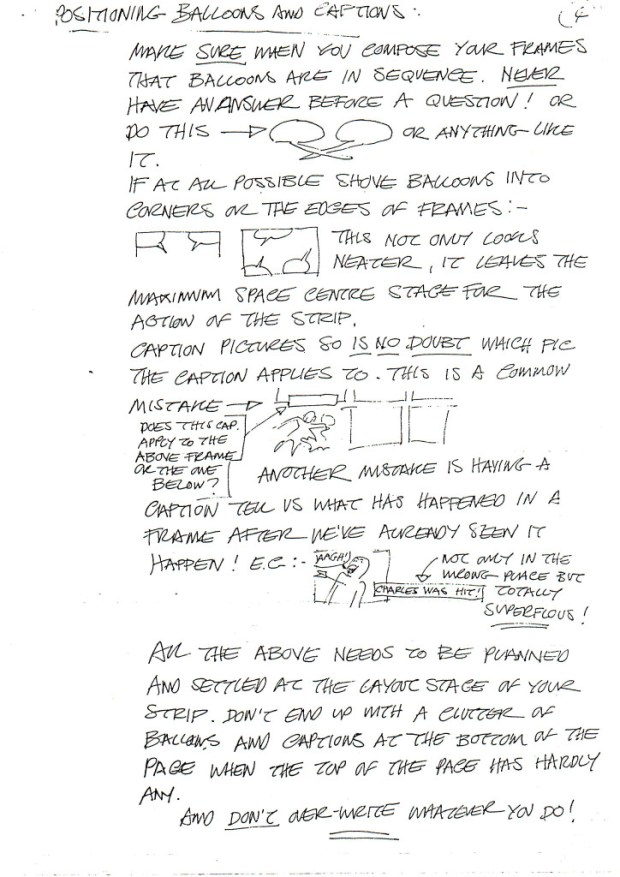 David Lloyd's Lettering Guide Page 4