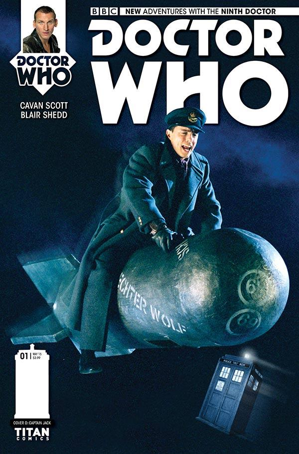 Doctor Who: The Ninth Doctor #1 - Cover D