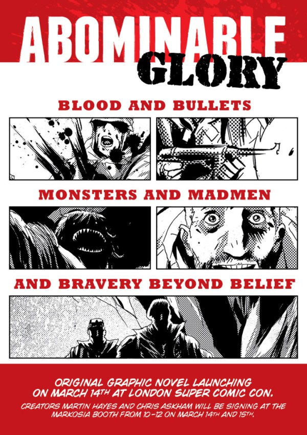 Abominable Glory – Flyer