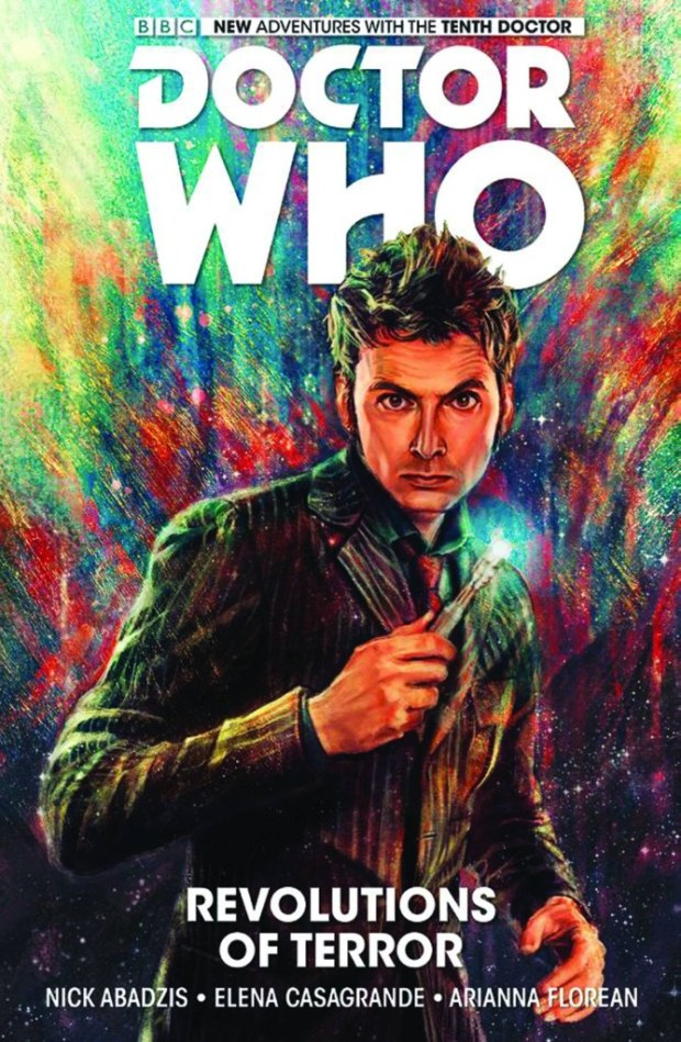 Doctor Who 10th Doctor Hard Cover Volume 1: The Revolutions of Terror