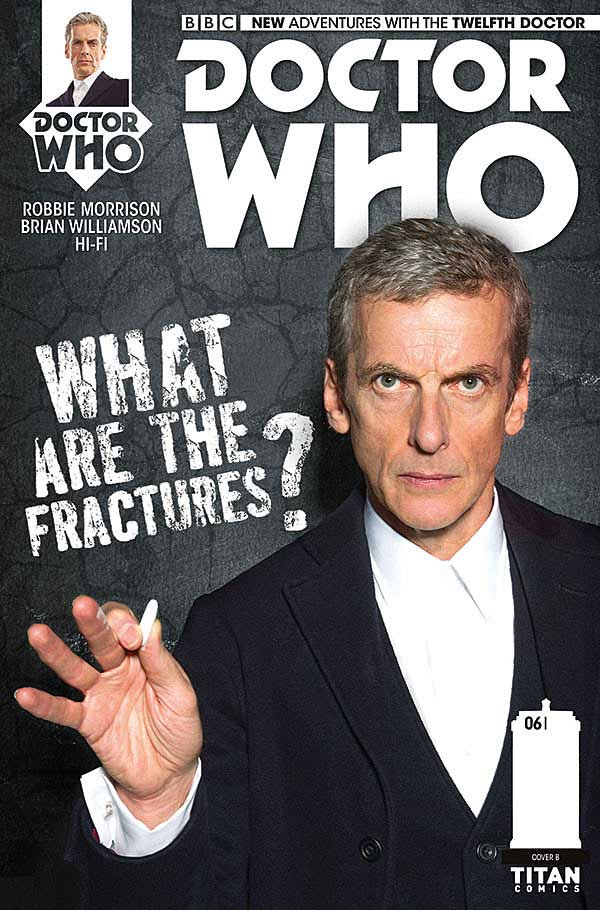 Doctor Who - Twelfth Doctor Cover B