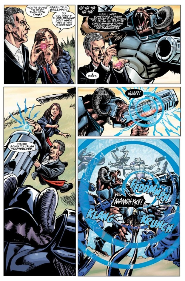 Doctor Who - Twelfth Doctor #6 - Preview Page
