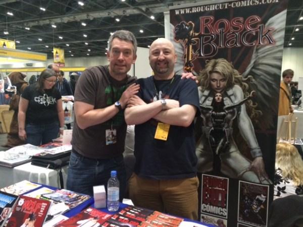 Jim Alexander and Ed Murphy of Planet Jimbot. Photo: Antony Esmond
