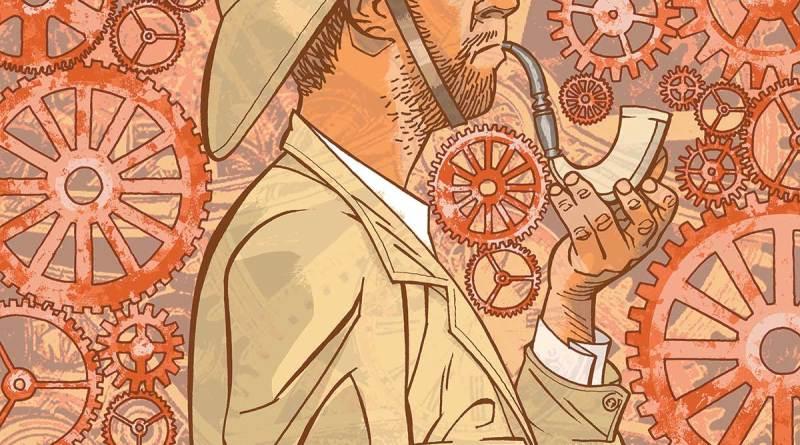 Professor Elemental #4 - Cover