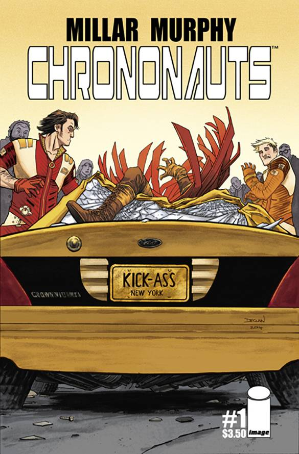 Chrononauts #1 (Declan Shalvey Cover)