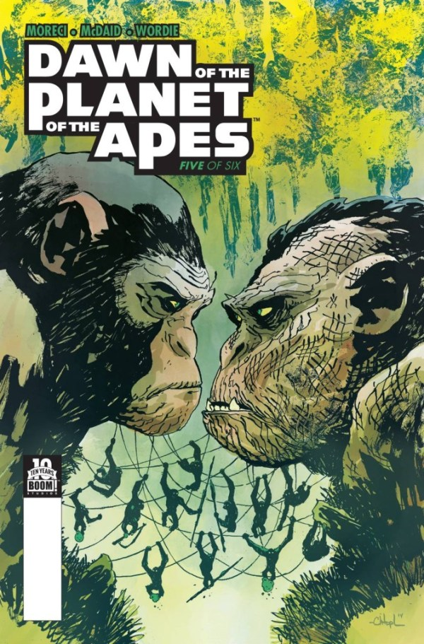 Dawn Of Planet Of Apes #5