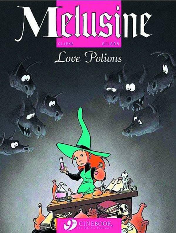 Melusine Graphic Novel Volume 4: Love Potions