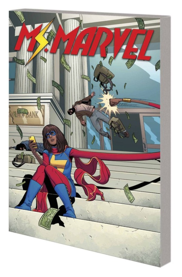 Ms Marvel Trade Paperback Volume 2 Generation Why