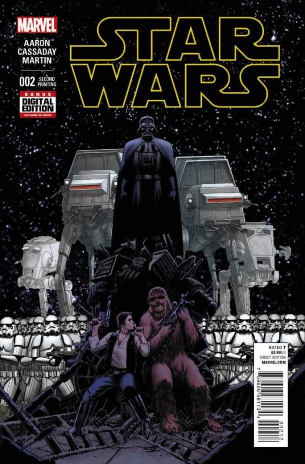 Star Wars #2 (Second Printing, Cassaday Variant)