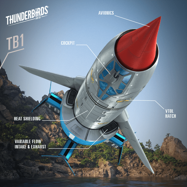 Thunderbirds Are Go: Thunderbird 1