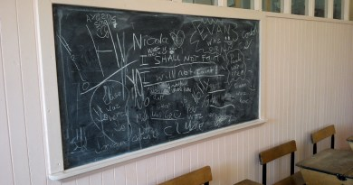 Unconference 2015: Blackboard. Photo: Lydia Wysocki