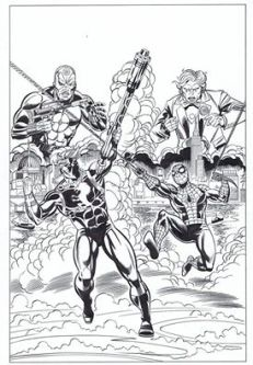 Captain Britain Volume 3 - Art by Herb Trimpe, inks by David Roach