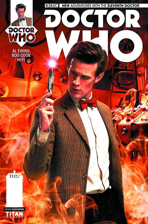Doctor Who 11th Doctor #11 - Cover B