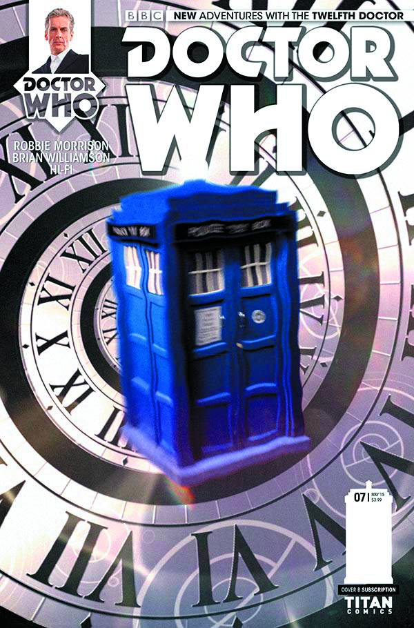Doctor Who: Twelfth Doctor #7 - Cover B