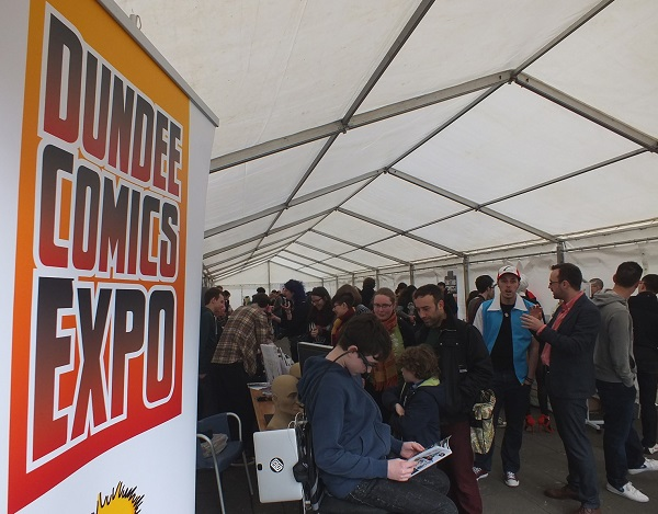 DeeCon 15 Expo Tent 1