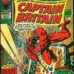 Captain Britain Weekly Issue 8. Art by Herb Trimpe