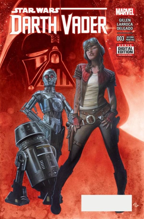 Darth Vader #3 Granov - Second Printing Variant