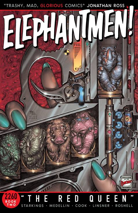 Elephantmen 2260 Trade Paperback Book 2