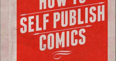 How to Self Publish Comics - 2015 Cover