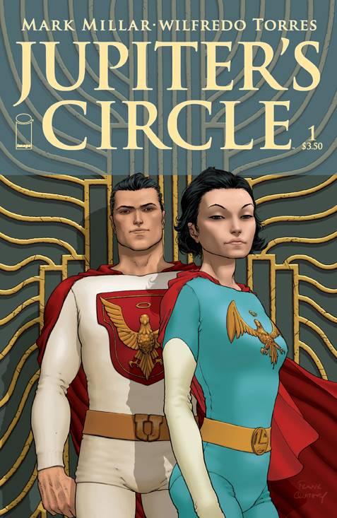 Jupiter's Circle #1  - Cover A