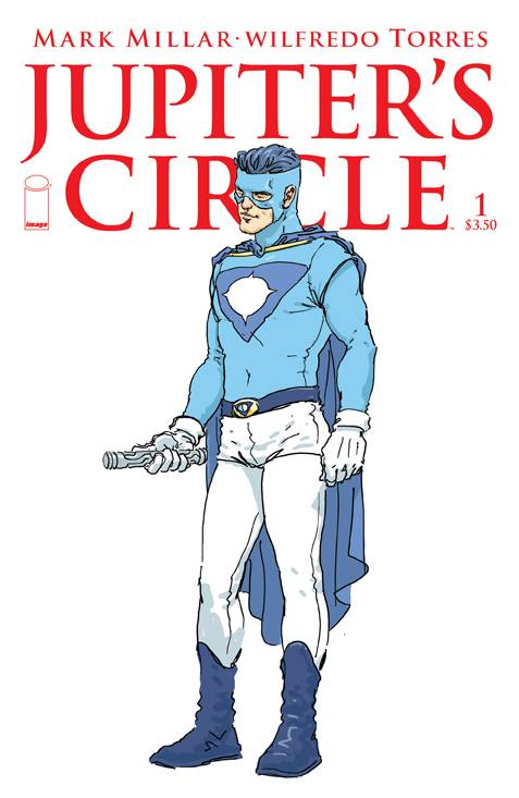Jupiter's Circle #1  - Cover B