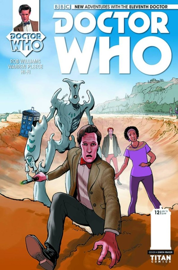 Doctor Who: The Eleventh Doctor #12 - Main Cover