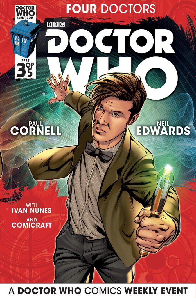 Doctor Who: Four Doctors - Cover A3
