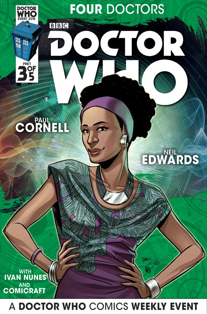 Doctor Who: Four Doctors - Companion Cover C3