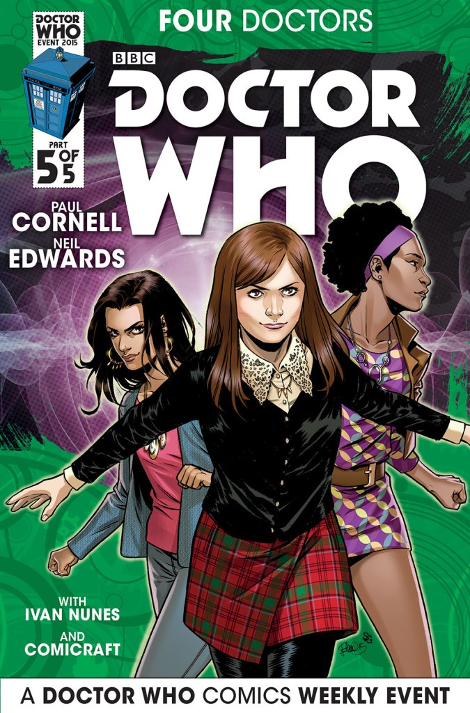 Doctor Who: Four Doctors - Companion Cover C5