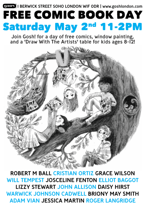 Free Comic Book Day 2015 - GOSH London