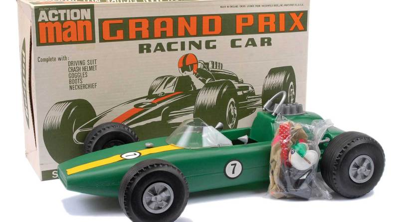 Action man Grand Prix Car