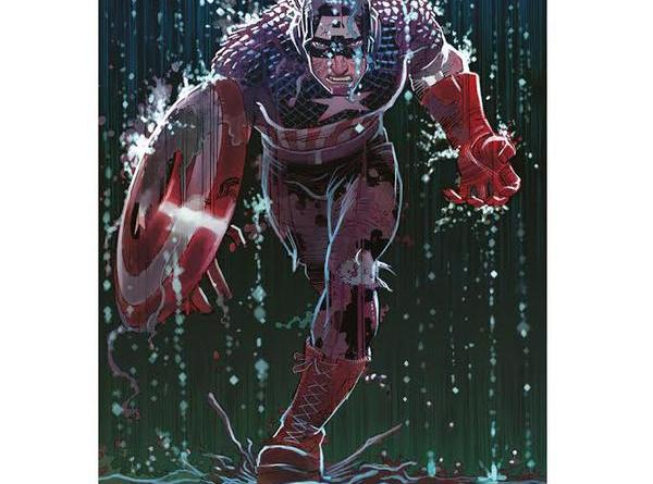 Forbidden Planet's exclusive Captain America Giclee Print by John Romita Jr - being launched on Free Comic Book Day