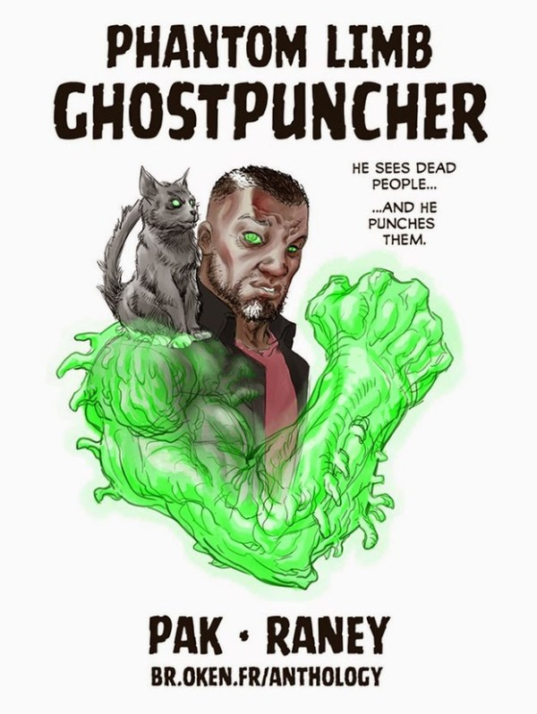 Ghostpuncher by The anthology also includes work from Greg Pak and Tom Raney.