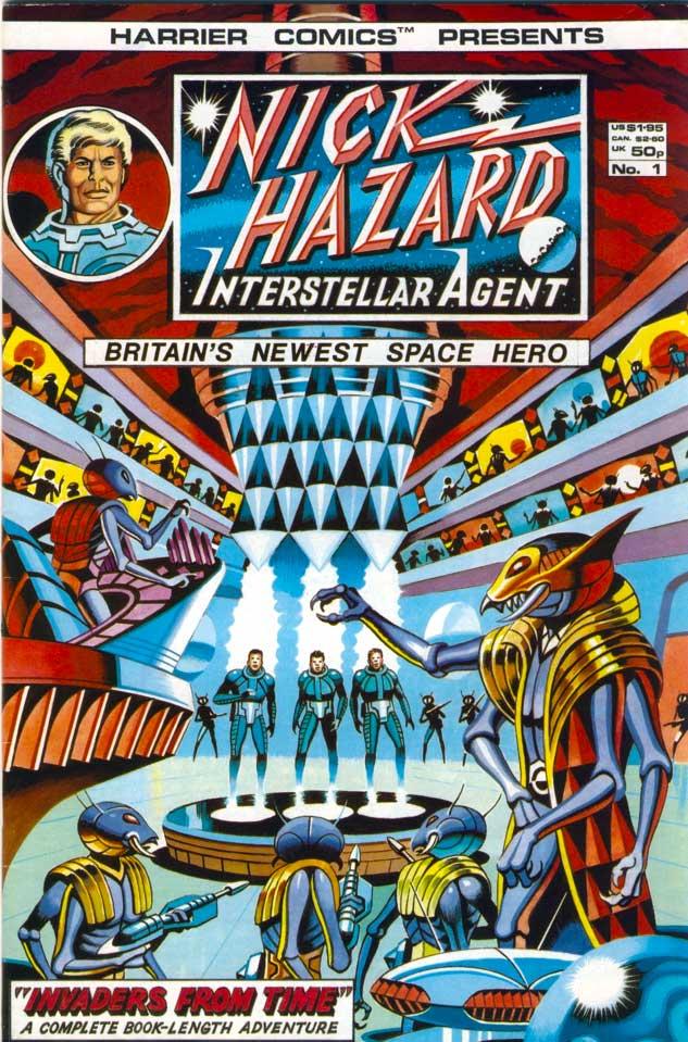 Harrier Comics presents Nick Hazard Interstellar Agent