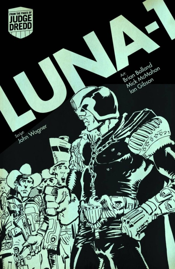 Judge Dredd Digest Trade Paperback Luna-1 - Large