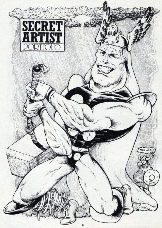 Marvel's Secret Artist Episode One. © Marvel Comics