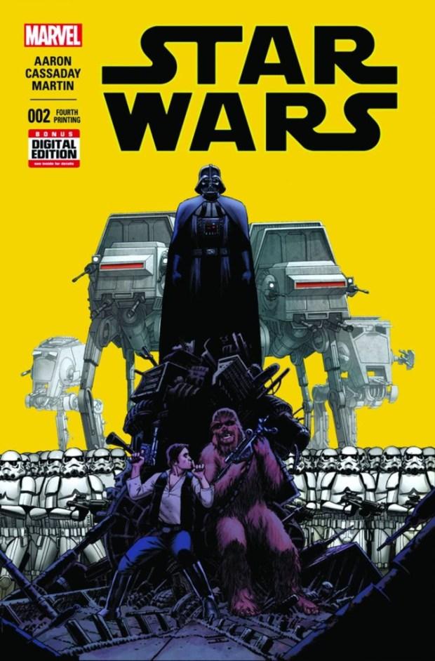 Star Wars #2 Cassaday 4th Printing Variant