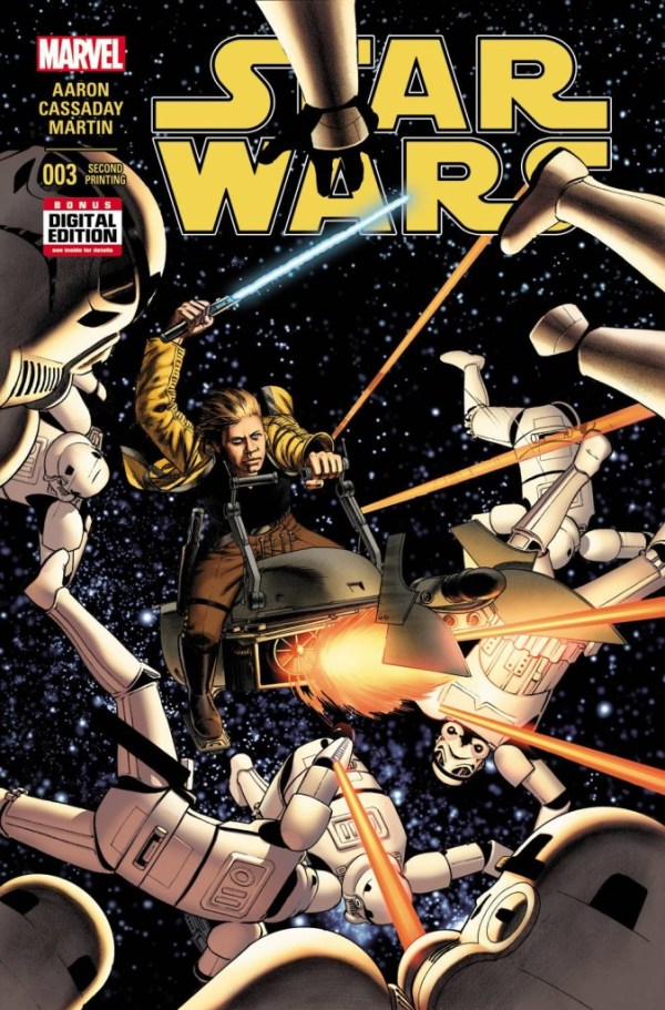 Star Wars #3 Cassaday – Second Printing Variant