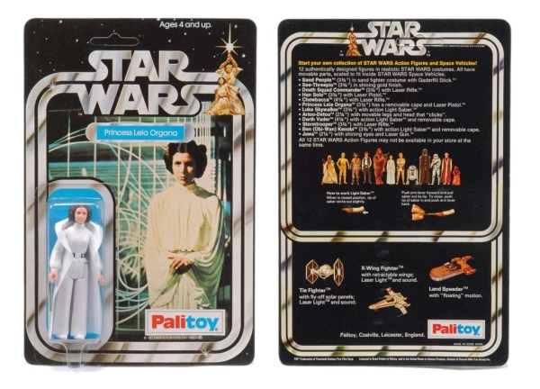 Princess Leia Organa - sold into slavery again for £3000.