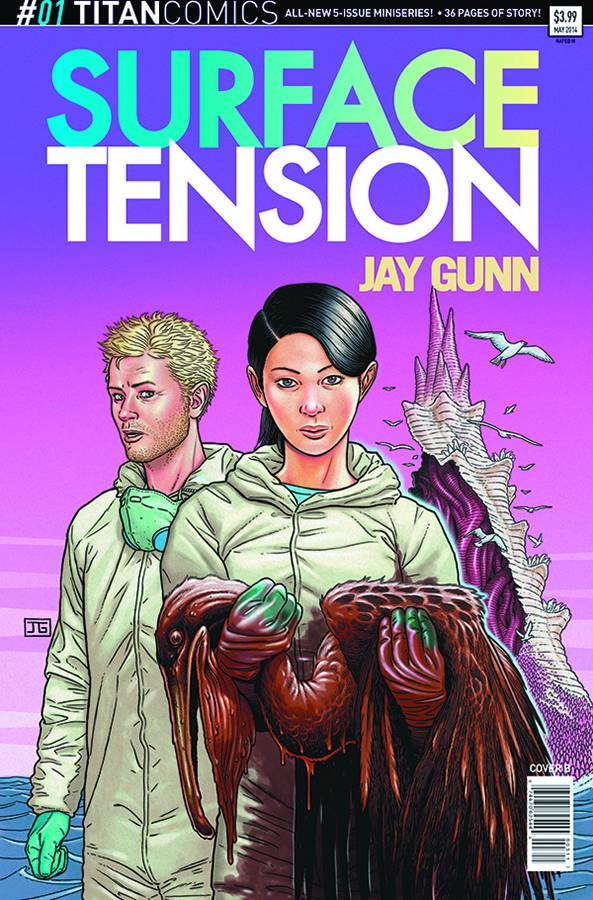 Surface Tension #1 - Subscription Cover