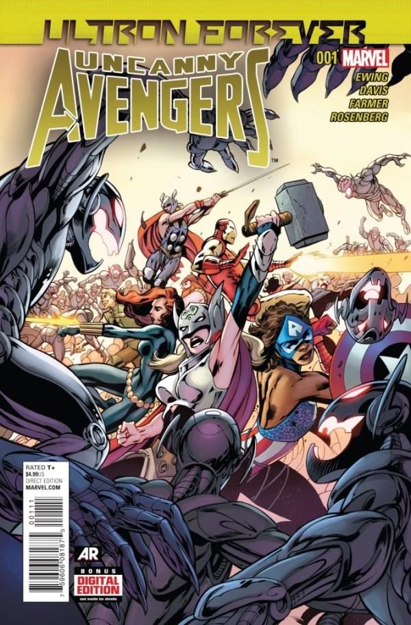 Uncanny Avengers Ultron Forever #1