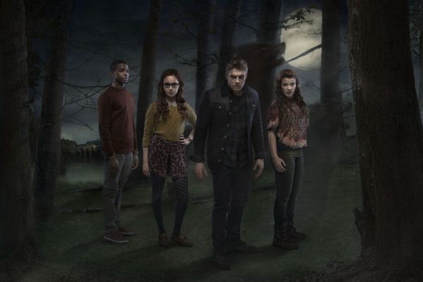 A promotional image for the third season of the CBBC drama Wolfblood. Image: BBC