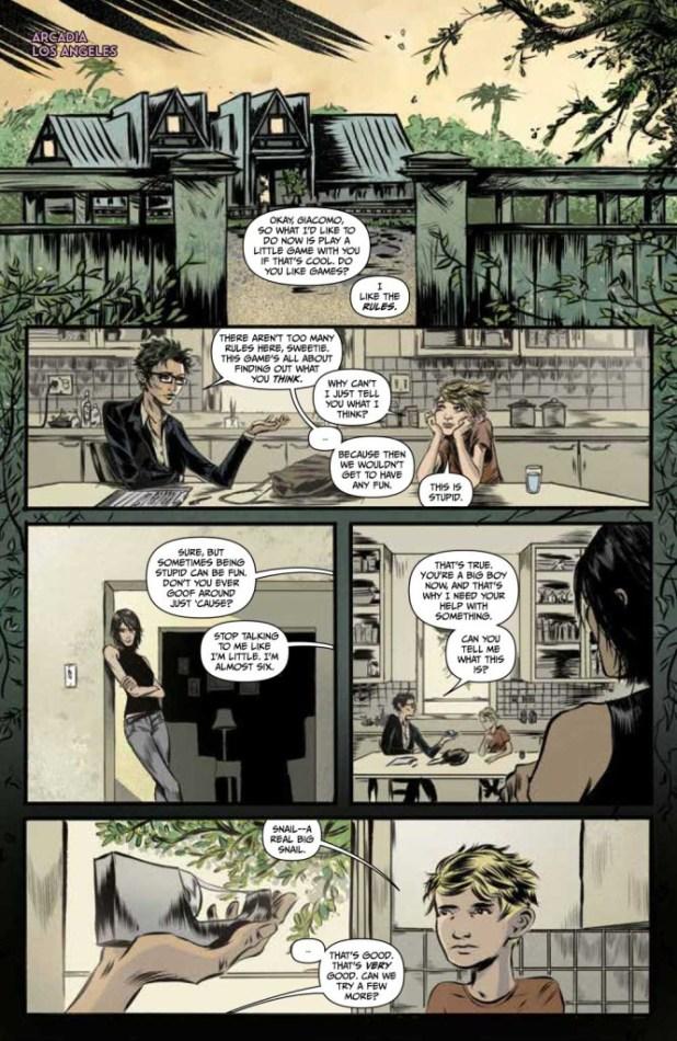 Arcadia #2 - Sample Page