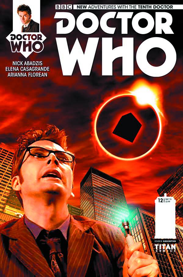 Doctor Who 10th #12 Cover Subs