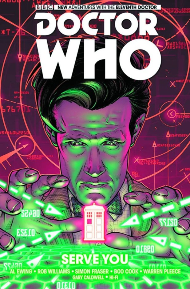 Doctor Who: Eleventh Doctor Hard Cover Volume 2: Serve You