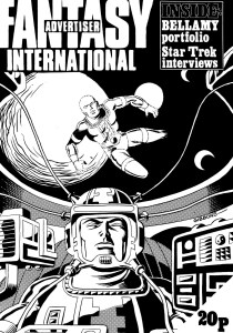 Fantasy Advertiser issue 54, with a Dave Gibbons cover