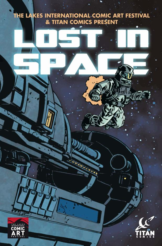 Lost in Space Anthology - Cover
