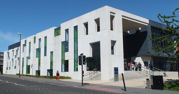 The University Of Sunderland's CitySpace Building. Photo: Jeremy Briggs