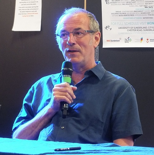 Dave Gibbons at Wonderlands 2015. Photo: Jeremy Briggs